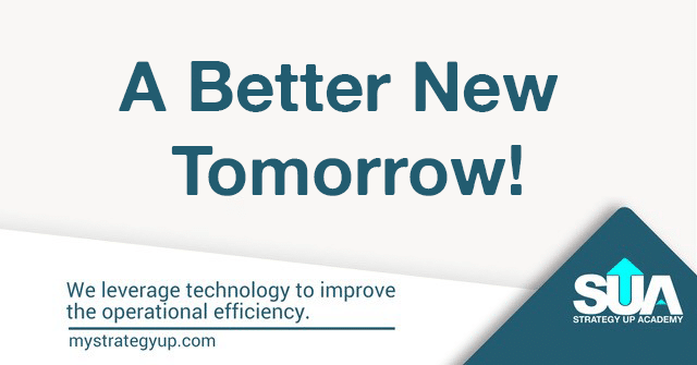 Better New Tomorrow - Strategic Plan
