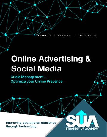Online advertising and social media training image