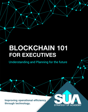 Blockchain for executives course image