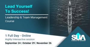Leadership Ad - Fall 2021 Rowing Boat