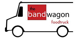 The bandwagon food truck logo