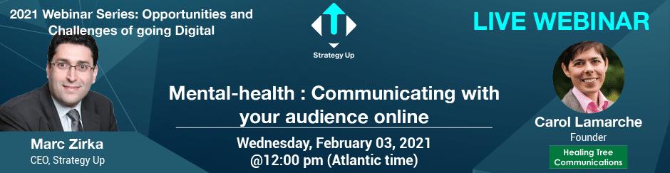 Live Webinar - Carol Lamarche - Strategy Up - February 2021