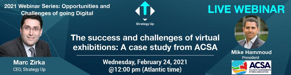 Live Webinar - Mike Hammoud - Strategy Up - February 2021